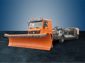 S560 Aircraft Snow Plow